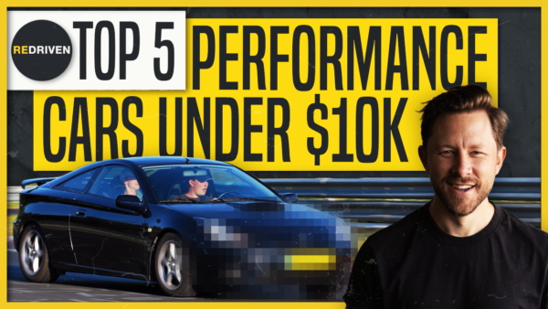 Top 5 Performance Cars UNDER $10,000